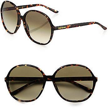Saint Laurent Round Acetate Sunglasses