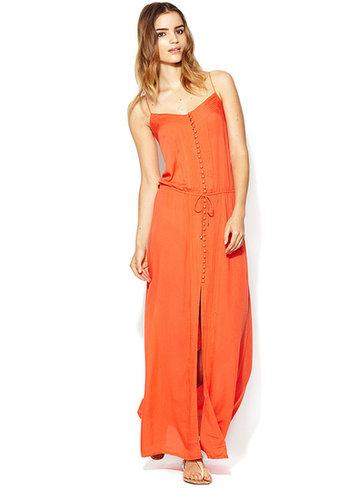 Joy Pintucked Maxi Dress