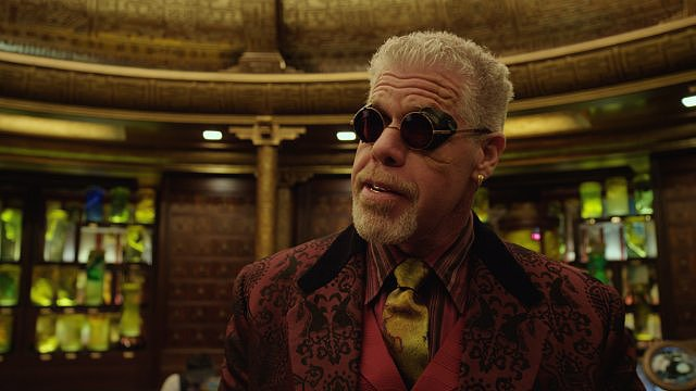 Ron Perlman in Pacific Rim.