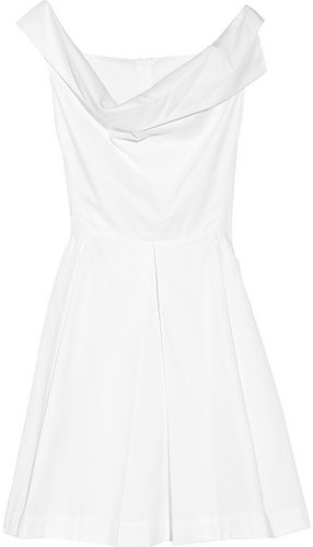 Vivienne Westwood Anglomania Halton draped cotton dress
