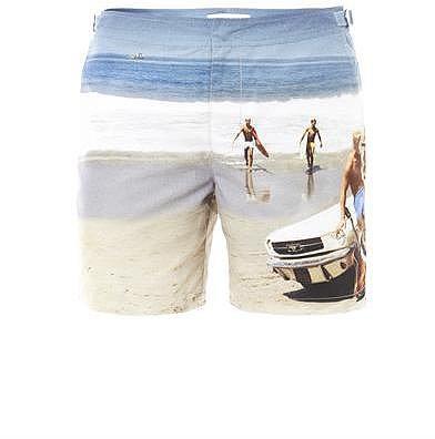 Orlebar Brown Las Hadas-print swim shorts