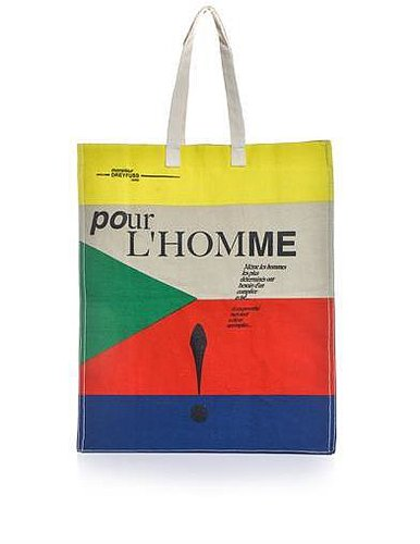 Jérôme Dreyfuss Hector canvas tote bag
