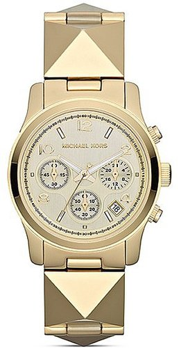 Michael Kors Pyramid Stud Runway Chronograph Watch, 38mm