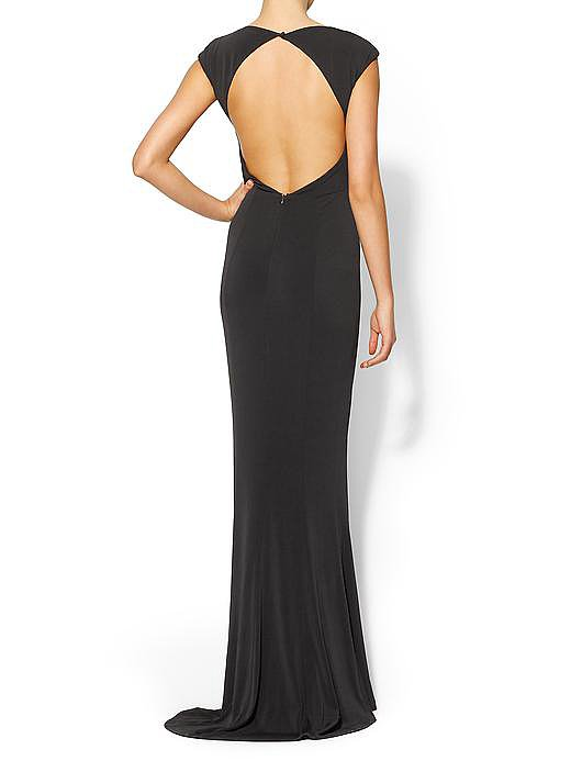 If you're a fan of Rachel's reality show, you might remember this gorgeous open-back gown ($425) from an episode that covered the designer's lookbook shoot. Good news: it's available to own now.