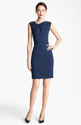 Jason Wu Twist Front Techno Jersey Dress