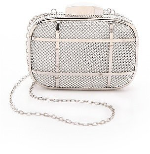 Whiting & davis Cage Minaudiere Clutch