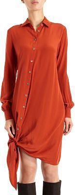 Thakoon Addition Side Tie Shirt Dress