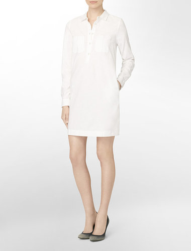 Calvin Klein Jeans Button-Front Shirt Dress