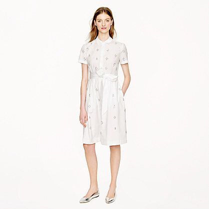 Collection Thomas Mason® for J.Crew shirtdress