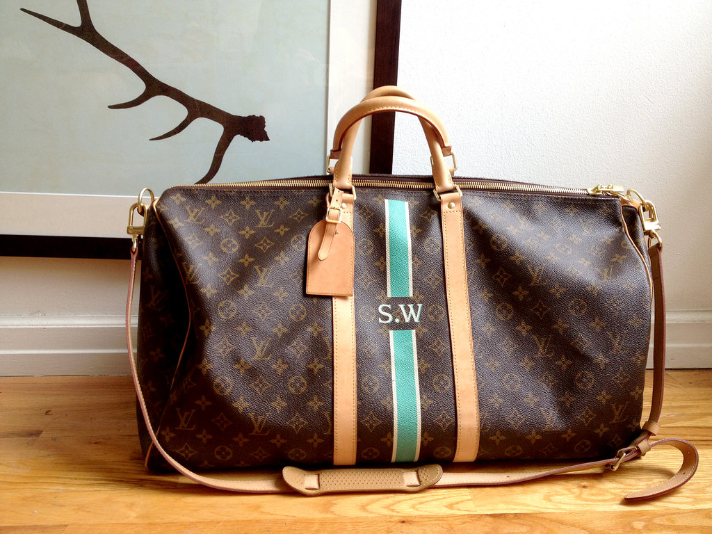 Travelling seems much more glamorous with LV.
