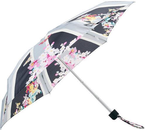 Fulton Tiny 2 Union Garden Gray Umbrella
