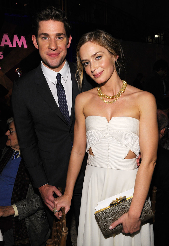 John had his hand on Emily's waist at the Gotham Independent Film Awards in Nov. 2012.