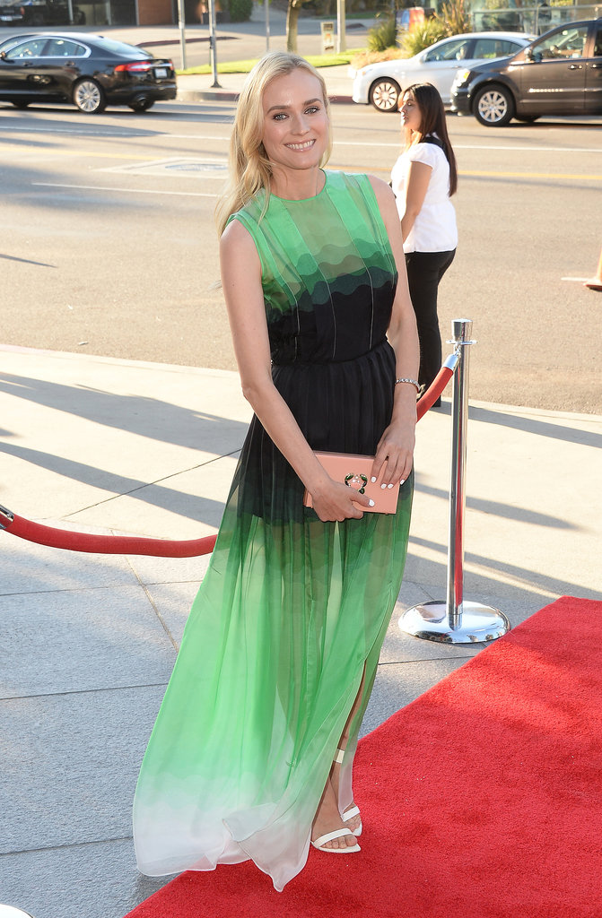 Diane Kruger stepped out to premiere her new TV show, The Bridge, in LA.