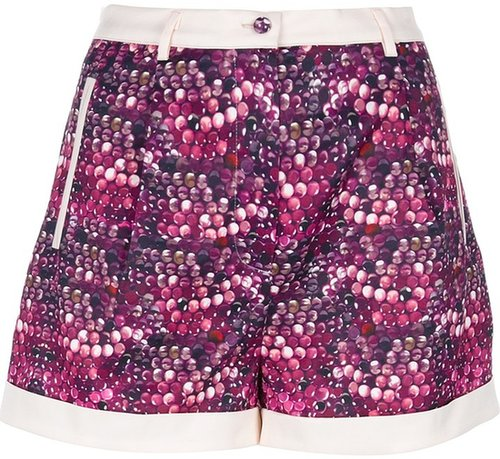Piccione.Piccione bubble print shorts