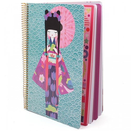 Mon Petit Art Ombrelle Izumi Notebook