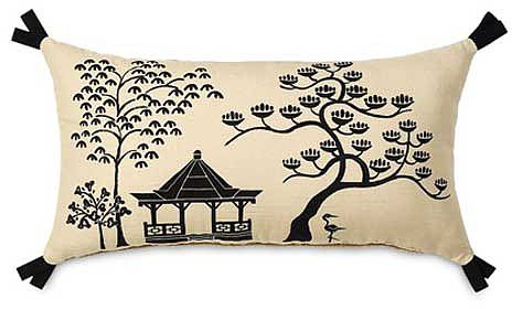 Hanami Pagoda Accent Pillow