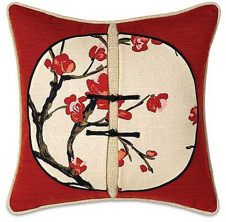 Hanami Square Accent Pillow