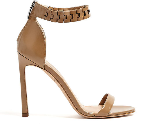 Kurt Geiger Aneka Tan Calf Strappy Sandals