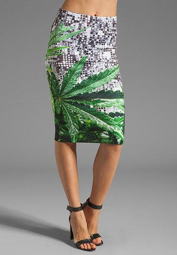 Clover Canyon How High Neoprene Skirt