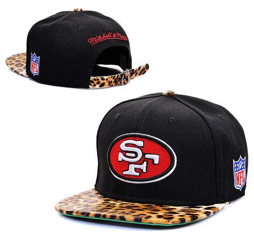 NFL San Francisco 49ers M&N Strapback Hat id09