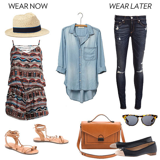 How to Wear a Chambray Shirt For Fall