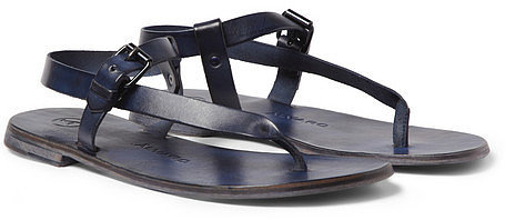 Alvaro Buckled Leather Sandals