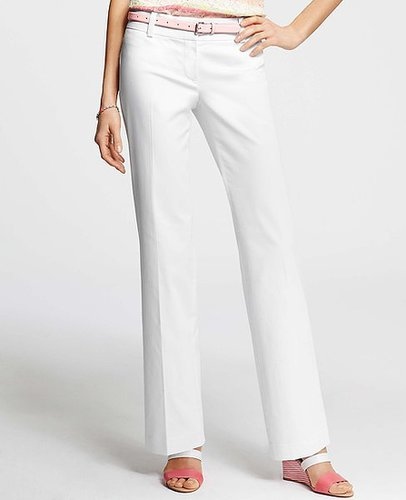 Petite Modern Cotton Sateen Trousers