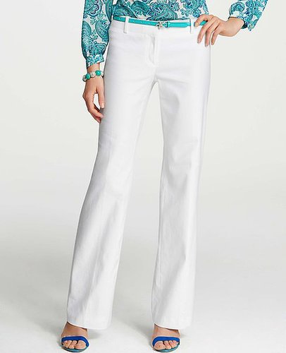 Tall Fully Lined Linen Blend Trousers