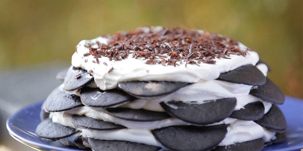 Old-Fashioned Vanilla Icebox Cake Recipe — Dishmaps