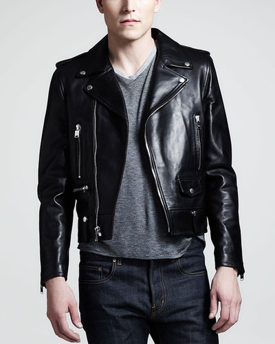 Saint Laurent Leather Motorcycle Jacket