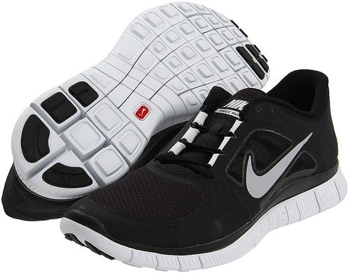 Nike - Free Run+ 3 (Black/Wolf Grey/Reflective Silver) - Footwear