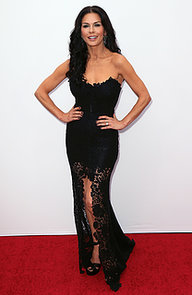 Catherine-Zeta-Jones-wore-black-gown-premiere