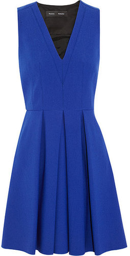 Proenza Schouler Pleated stretch-crepe dress