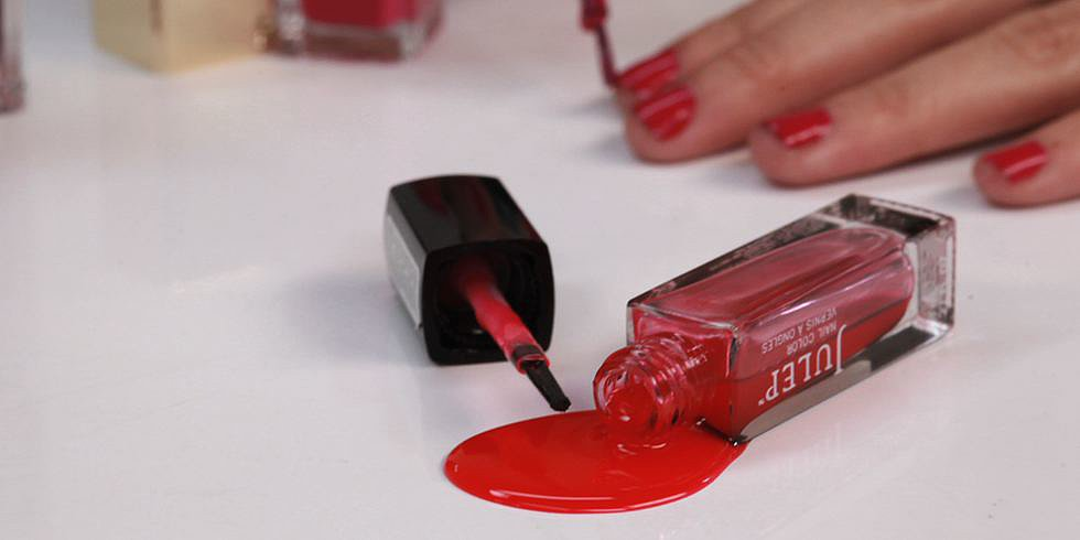 How To Get Nail Polish Stains Out Of Clothes Video