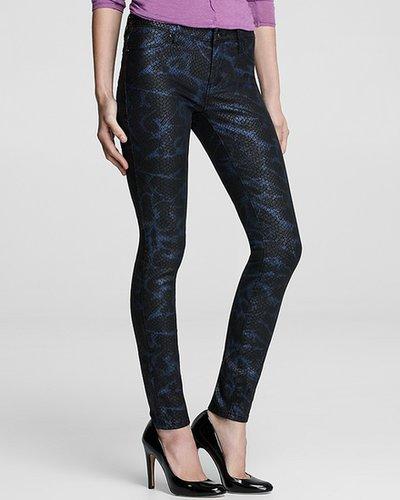 BLANKNYC Denim Jeans - Reptile Print Skinny