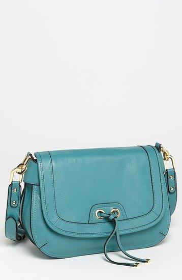 Perlina 'Simone' Leather Crossbody Bag