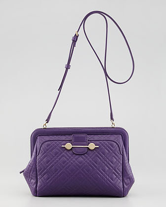 Jason Wu Daphne Quilted Crossbody Bag, Violet