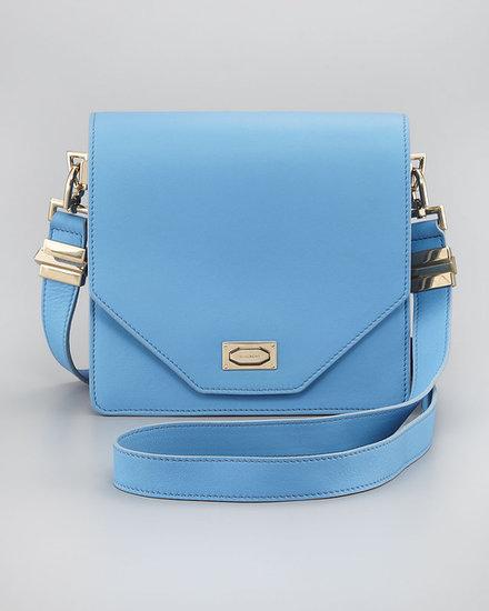 Givenchy Flap-Top Crossbody Bag, Sky Blue