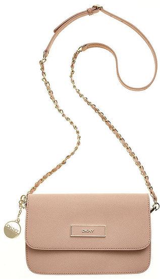 DKNY Handbag, Saffiano Small Flap Crossbody