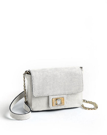 JUICY COUTURE Emblazon Mini G Leather Crossbody Bag