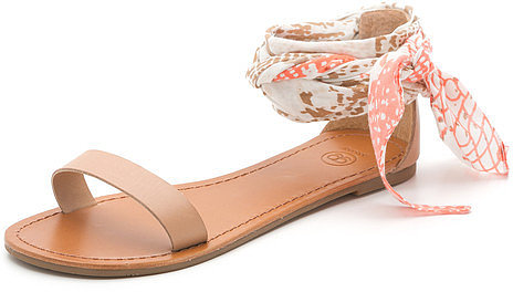 gorjana Catalina Sandals Macaroon