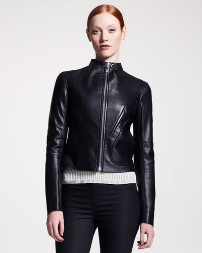THE ROW Leather Motorcycle Jacket