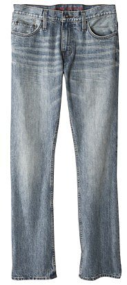 Mossimo Supply Co. Men's Boot Leg Jeans - Light Stonewash