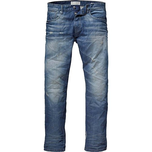 Scotch & Soda - Men's Snatch Dusty Road Denim Pant