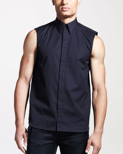 Givenchy Sleeveless Poplin Shirt