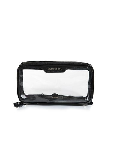 Anya Hindmarch In-flight clear makeup bag