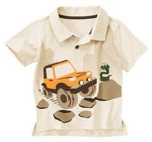 Snake Jeep Polo Shirt