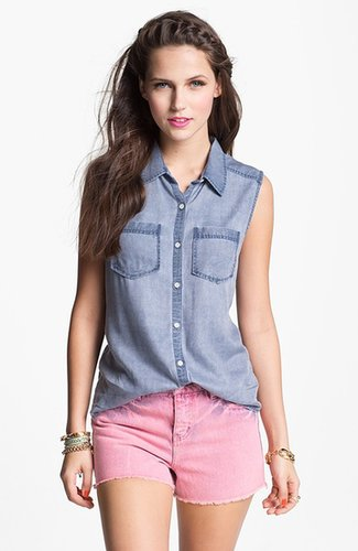 Rubbish Sleeveless Work Wear Shirt (Juniors)