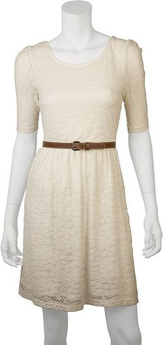 Iz byer california lace dress - juniors
