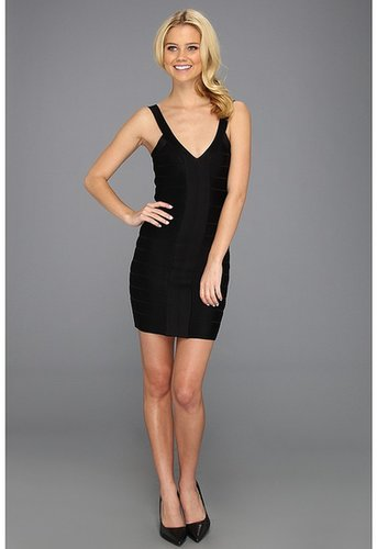 French Connection - Foxy Faye Dress (Black) - Apparel